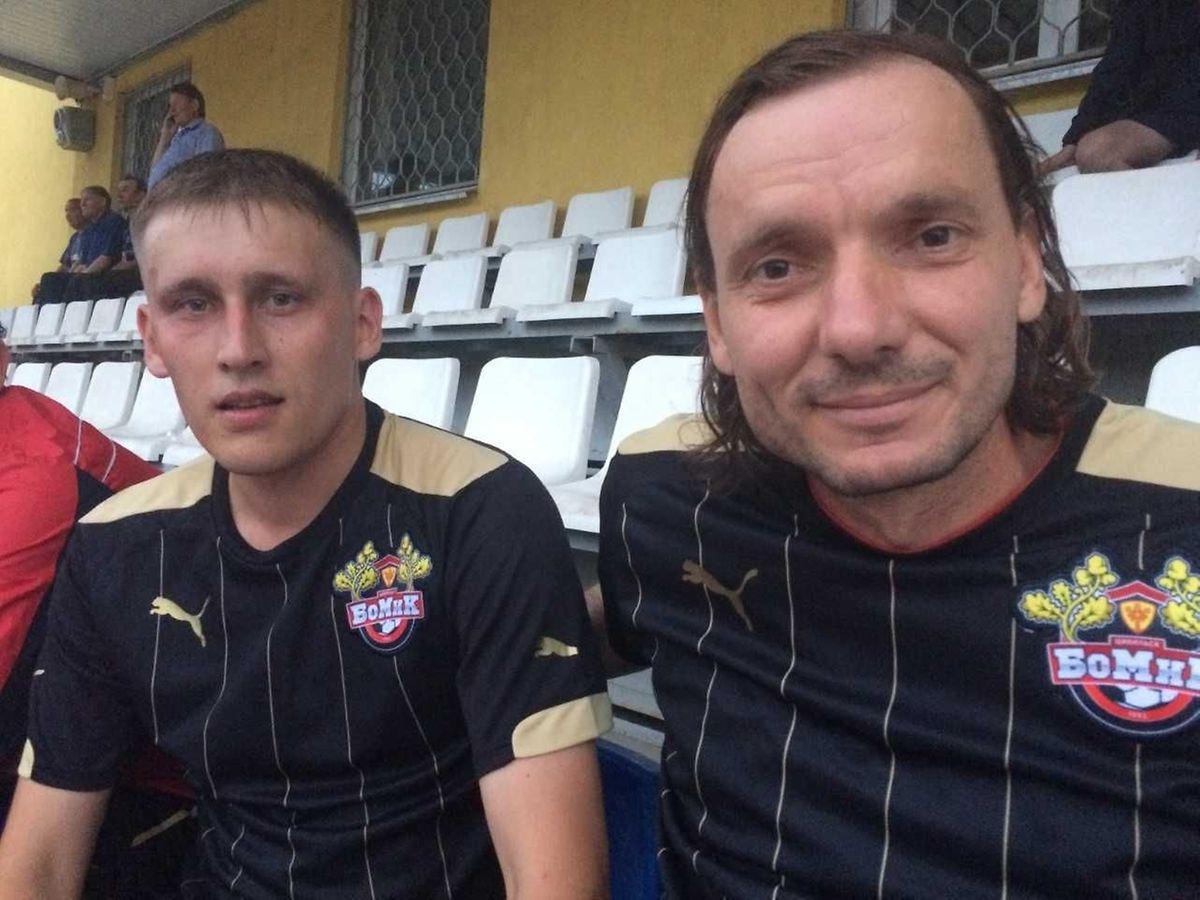 Statt Talent zählt heute Kommerz, sagt Spielertrainer Sajun (r.).