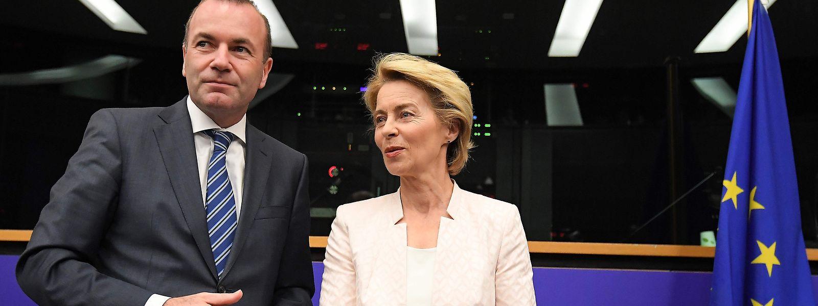 Manfred Weber und Ursula von der Leyen