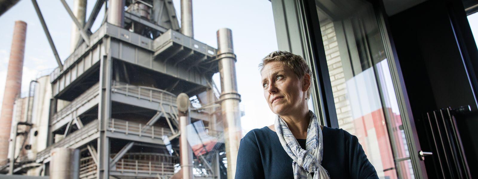 Installée à Belval, au 5, avenue des Hauts-Fourneaux, Sasha Baillie a le regard résolument tourné vers l'avenir pour assurer le développement de l'économie.
