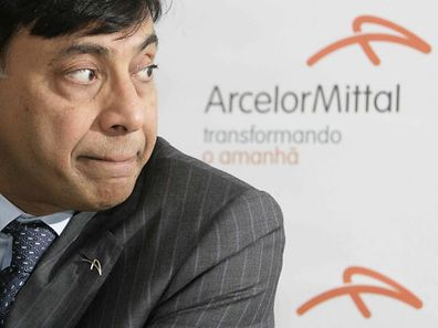 ESPIRITU SANTO, ARCELOR MITTAL BRASILIEN,TUBARAO, INTERNATIONALE PRESSEKONFERENZ CEO ARCELOR MITTAL LAKSHMI MITTAL, PHOTO GUY WOLFF 28.11.2007