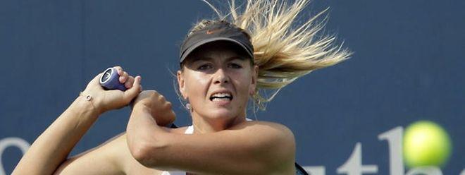 La Russe Maria Sharapova a renoncé à participer à l'US Open en raison d'une blessure à une jambe
