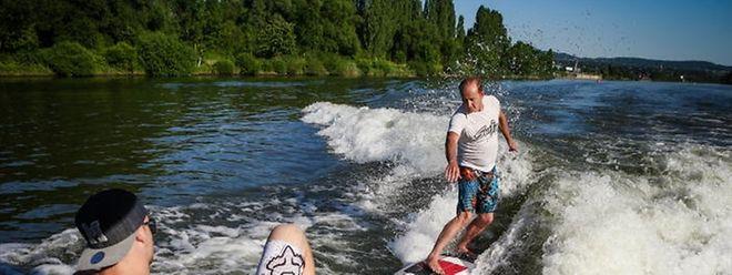 28 Sommertage luden in den vergangenen Monaten zum Wassersport ein.