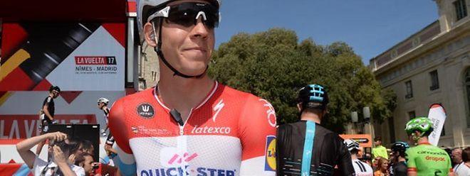 Bob Jungels soll die Rolle des Kapitäns beim Quick-Step-Team übernehmen.