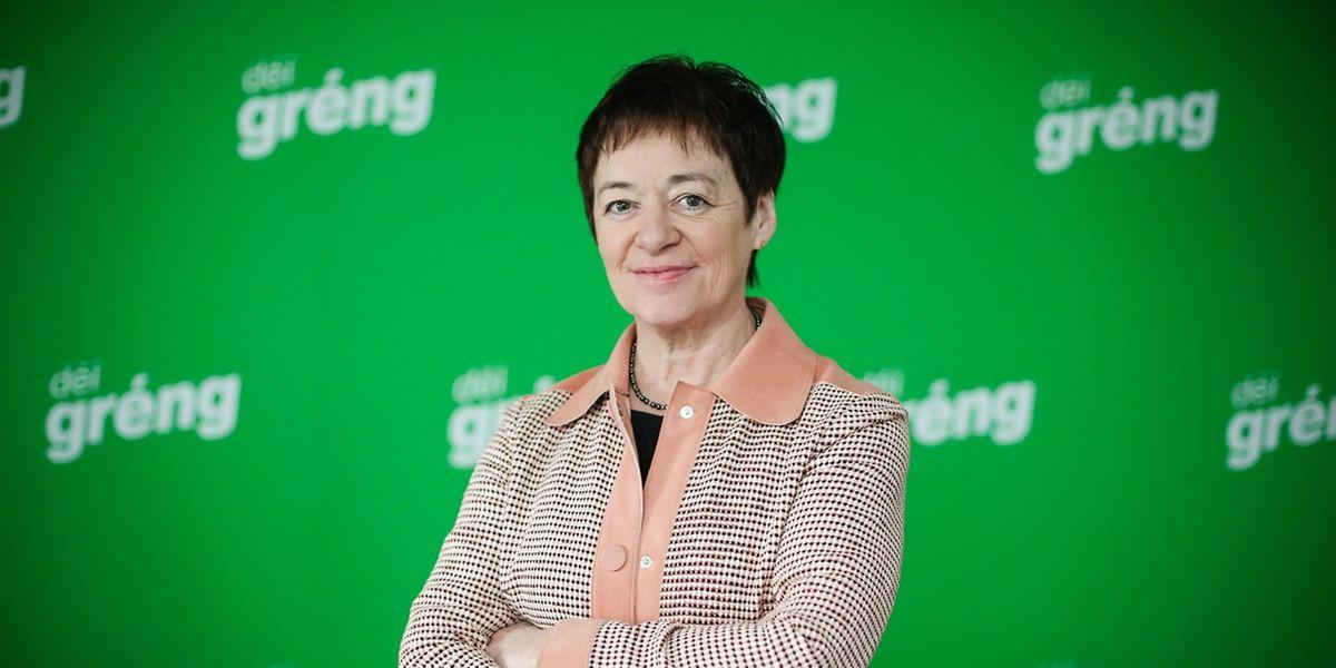 Josée Lorsché est membre du parti déi gréng depuis 1984 et membre du groupe politique depuis 2011.