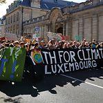 Jovens do Luxemburgo autorizados a faltar às aulas para sair à rua pelo clima