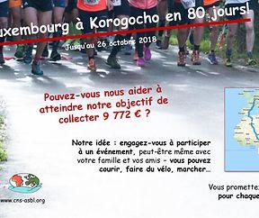 De Luxembourg à Korogocho en 80 jours!