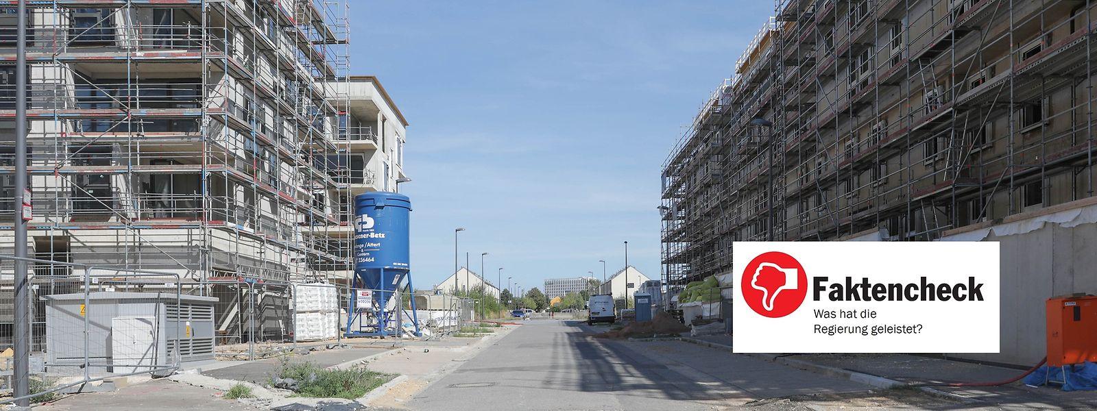 Die Regierung hat das nationale Baulückenprogramm nicht umgesetzt.