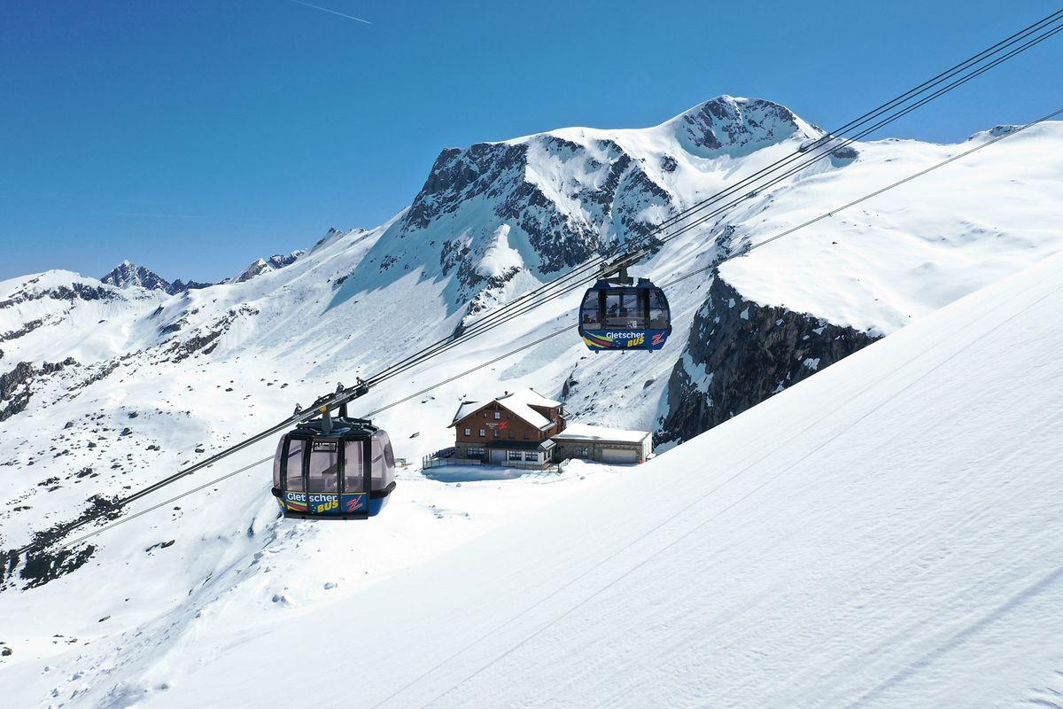 Am Hintertuxer Gletscher gibt es Ende April 2020 eine Technik-Tour mit Stationen bei zwei Seilbahnen.
