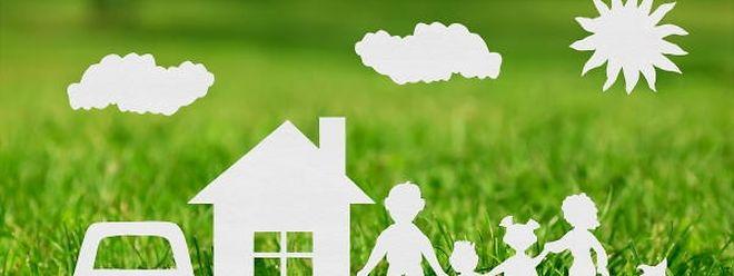 Die Studie des Luxemburger Statistikamtes bezieht sich auf die Modellfamilie von Marie (42) und Jean (43) mit ihrer Tochter Lis (14) und ihrem Sohn Theo (10).
