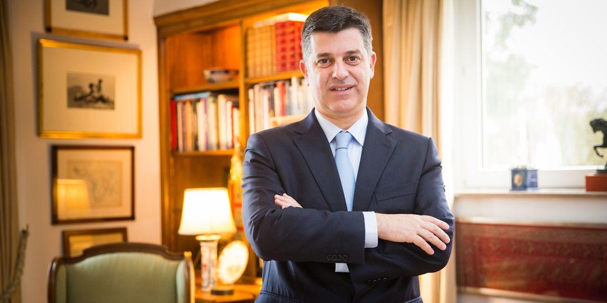 Le ministre portugais de l'Economie, Manuel Caldeira Cabral, a rendu une visite express à son homologue luxembourgeois, mardi