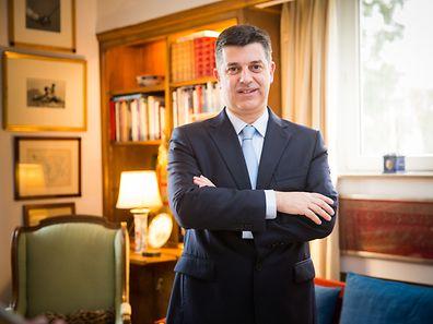 Ministre portugais de l'Economie, Manuel Caldeira Cabral, Foto Lex Kleren