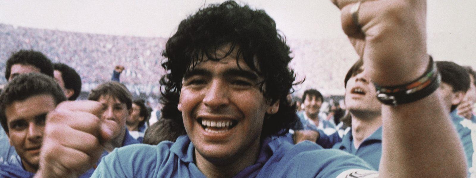 Diego Maradona wird mit der neuen Dokumentation ganz nah und aus neuen Perspektiven gezeigt.