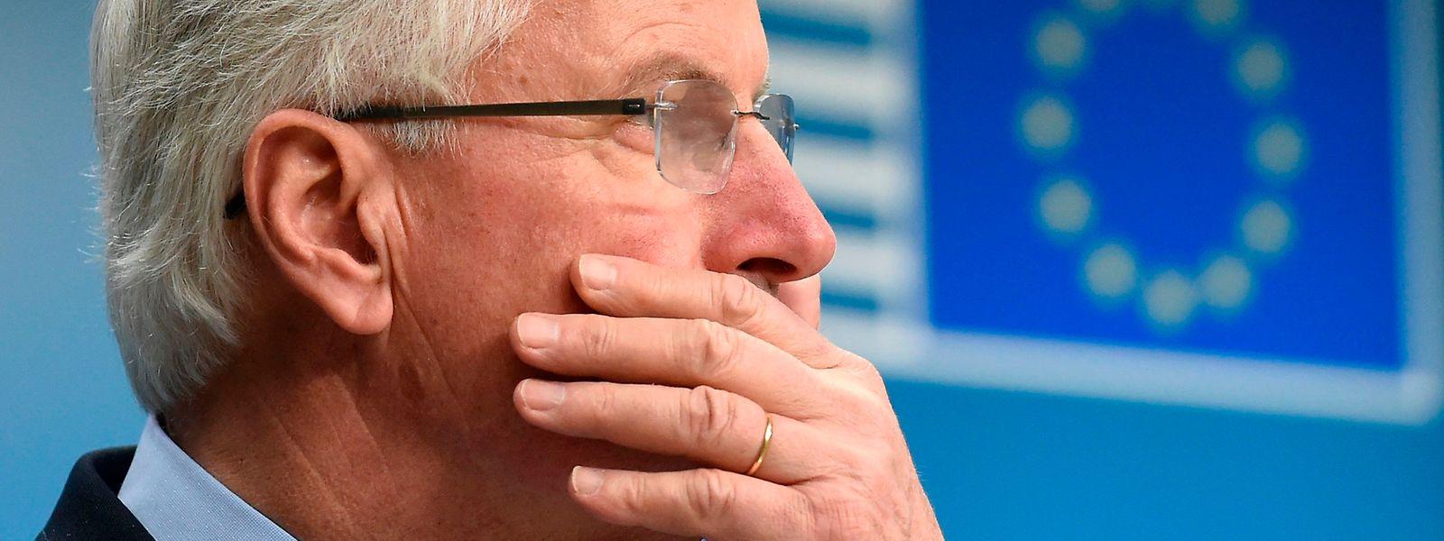 """EU-Chefunterhändler Michel Barnier ist der Meinung, der neue britische Vorschlag """"enthalte keine Überraschungen""""."""