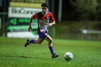 Lucas Correia (20 Fola Esch) football - BGL ligue - Hostert-Fola Esch - 24/02/2021 - Stade Jos Beckerfoto : Vincent Lescaut