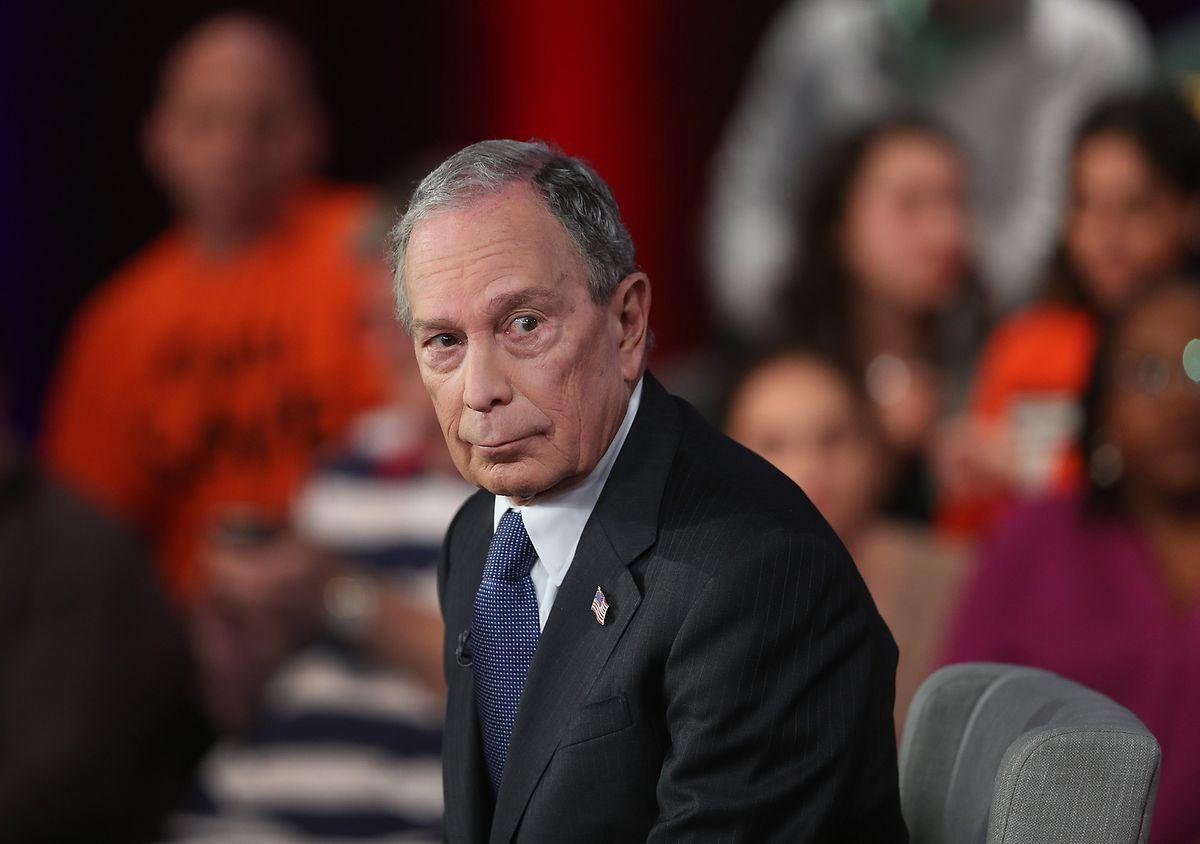 Mike Bloomberg, le troisième homme de cette campagne démocrate.
