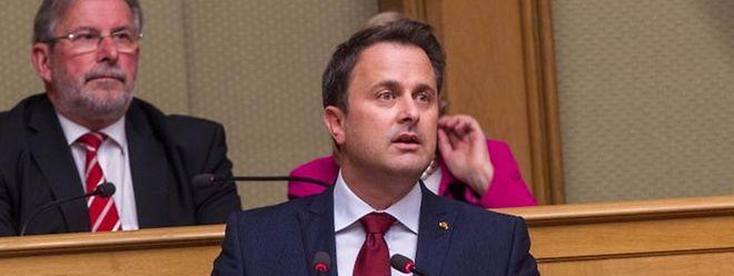Premier Xavier Bettel gab im Parlament eine Erklärung über die Schlussfolgerungen des EU-Gipfels ab.