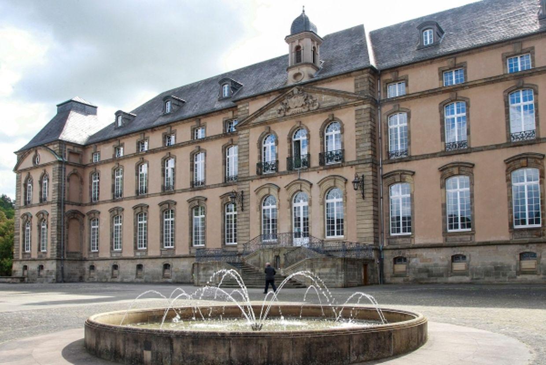 Das Abteimuseum befindet sich im Keller des Lyzeums.