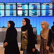 Reisende aus sechs muslimischen Ländern, die keine engen Verbindungen in die USA haben, dürfen 90 Tage lang nicht einreisen.