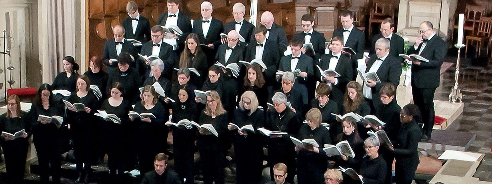 """Das traditionelle """"Au seuil de l'Avent""""-Konzert gehört zu den jährlichen Highlights des Domchors."""