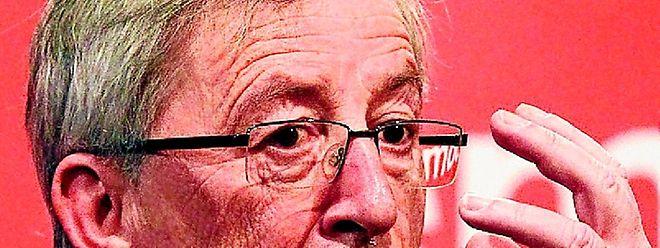 """""""Die Debatte über Deutschland als Zahlmeister des Euro ist eine ungesunde Debatte"""", sagte Jean-Claude Juncker in Frankfurt. (foto: reuters)"""