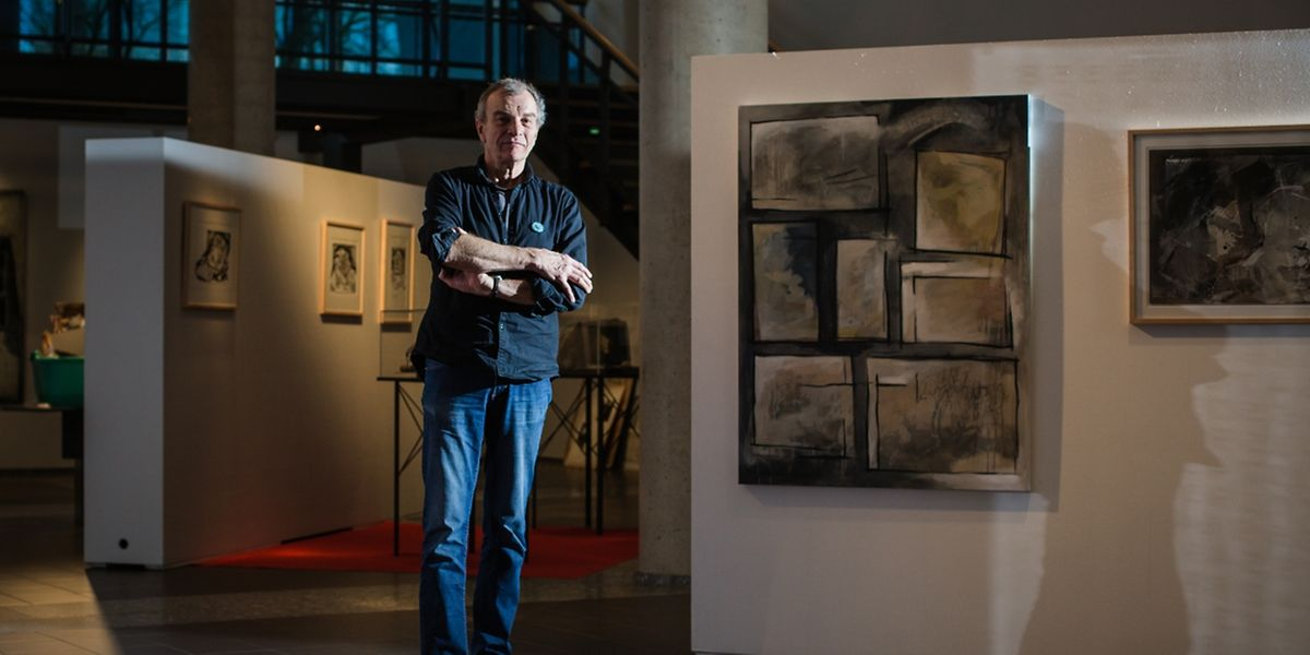 Pit Wagner lässt dem Betrachter seiner Bilder Raum für Fantasie und Träumerei.