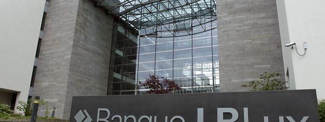 Der frühere Firmensitz der LBLux auf dem Kirchberg.