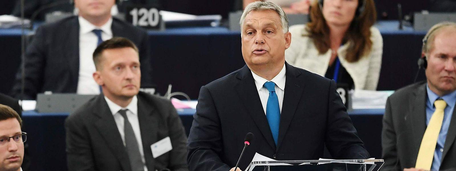 Victor Orbans Regierung gefällt das Votum ganz und gar nicht.