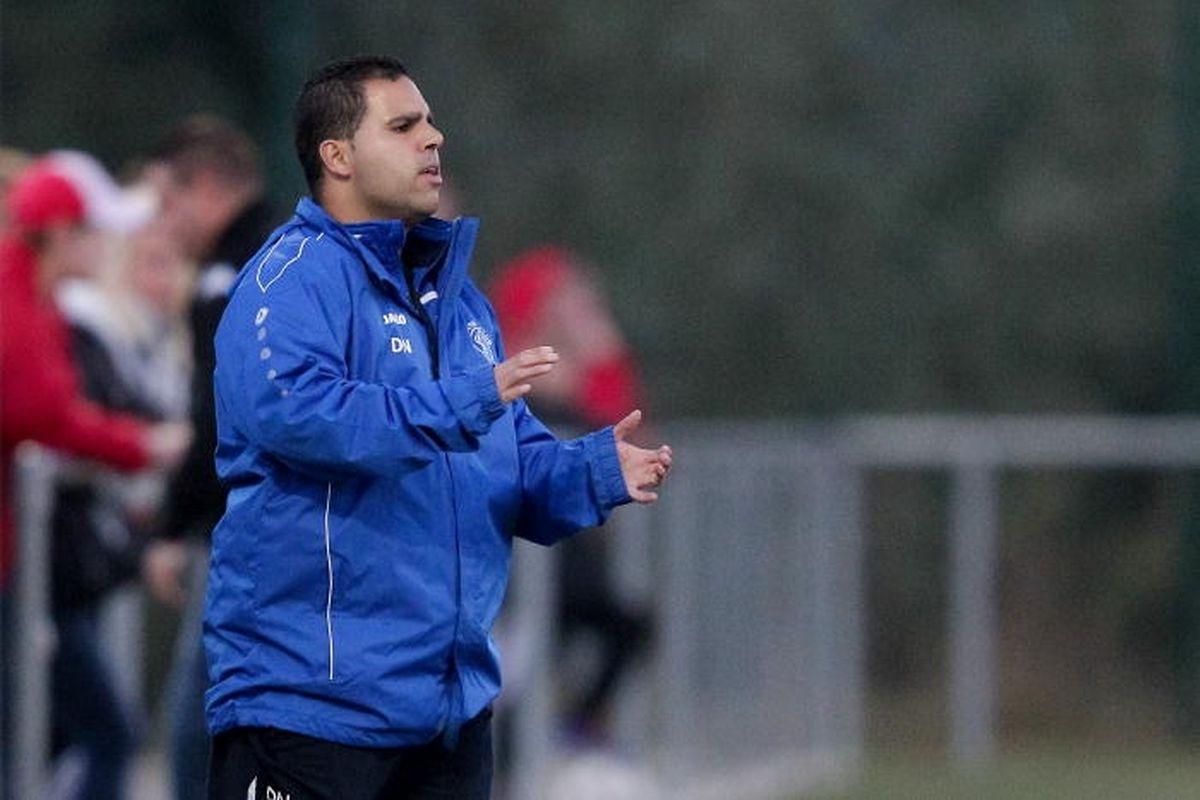 O treinador do SC Bettemnourg conquistou o seu primeiro título de campeõa esta época