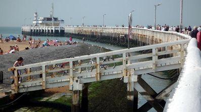 Der Hafen von Ostende ist scheinbar nicht nur bei Touristen beliebt.