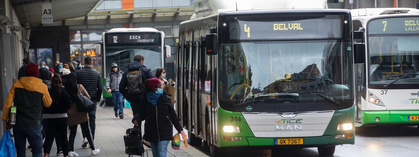 Die Arbeitsplätze der Mitarbeiter von Busunternehmen sind für die Dauer des Beschäftigungsplans sicher.