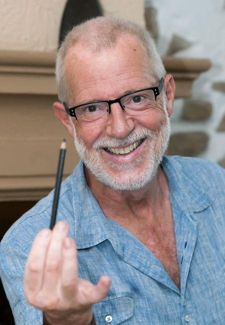 """Desenhador do marsupilami desde 1987, o belga Batem recorda o mestre como """"um homem de enorme simplicidade""""."""