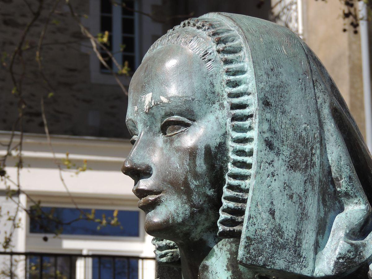 Auf Herzogin Anne de Bretagne ist man in Nantes besonders stolz.