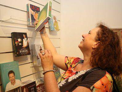 """R�ception officielle pour l?ouverture de la nouvelle librairie anglaise the """"book loft"""" / Foto: Steve EASTWOOD"""