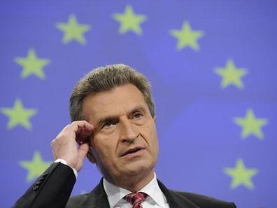 Günther Oettinger beerbt Georgiewa.