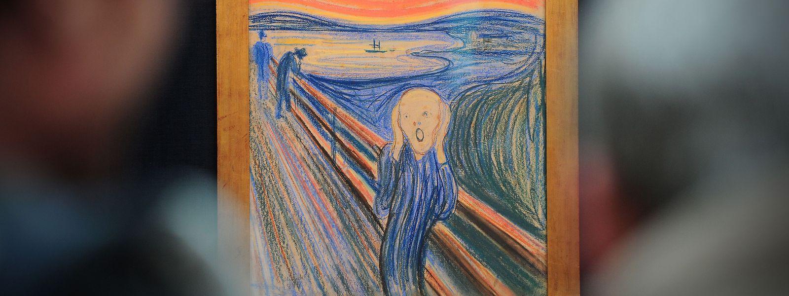 """Munchs bekanntestes Werk: """"Der Schrei"""" von 1895."""