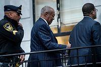 Bill Cosby vor der Urteilsverkündung.