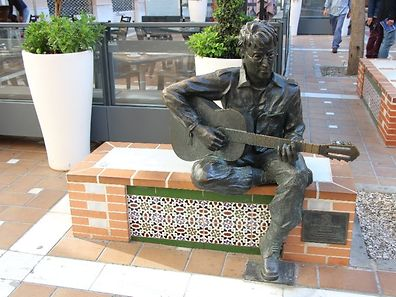 John Lennon Statue in Almeria