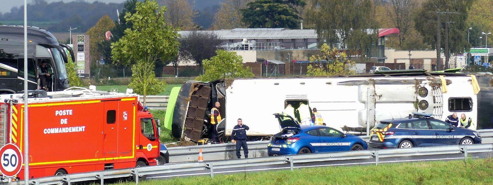 Frankreich Unfall