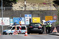 Lokales, Grenze bei Wasserbillig, Polizei Kontrolle, Coronavirus, Covid-19, Foto: Chris Karaba/Luxemburger Wort