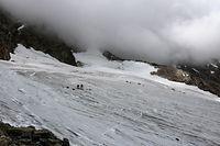 Beim Aufstieg auf das Lagginhorn haben Wanderer eine Leiche entdeckt.