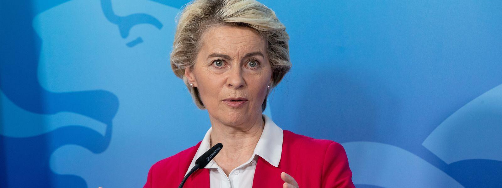 Ursula von der Leyen macht in Sachen Klimawende Ernst.