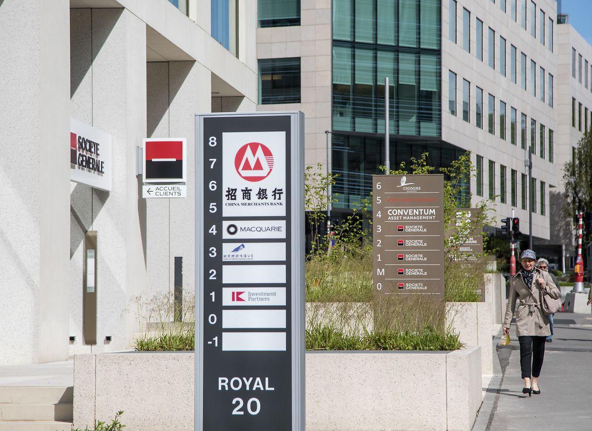 Von den 135 Banken in Luxemburg stammen mittlerweile 14 aus China.