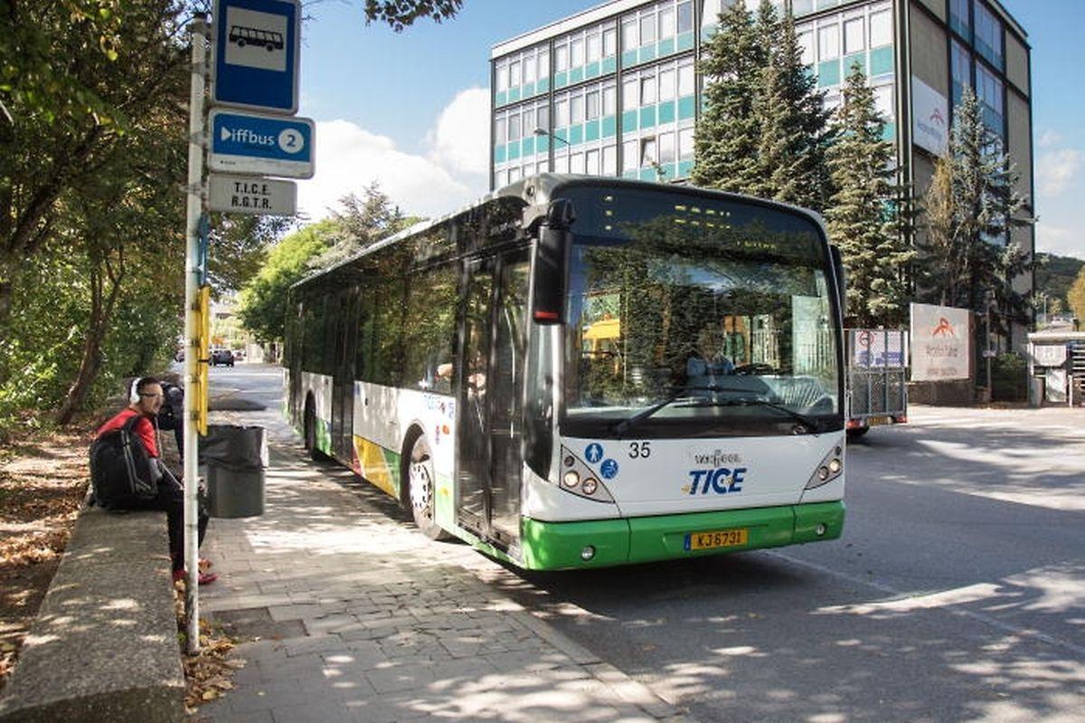 Am Wochenende werden die TICE-Busse rund um die Uhr fahren.