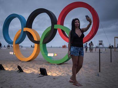 Brasilien ist derzeit im Olympia-Fieber.