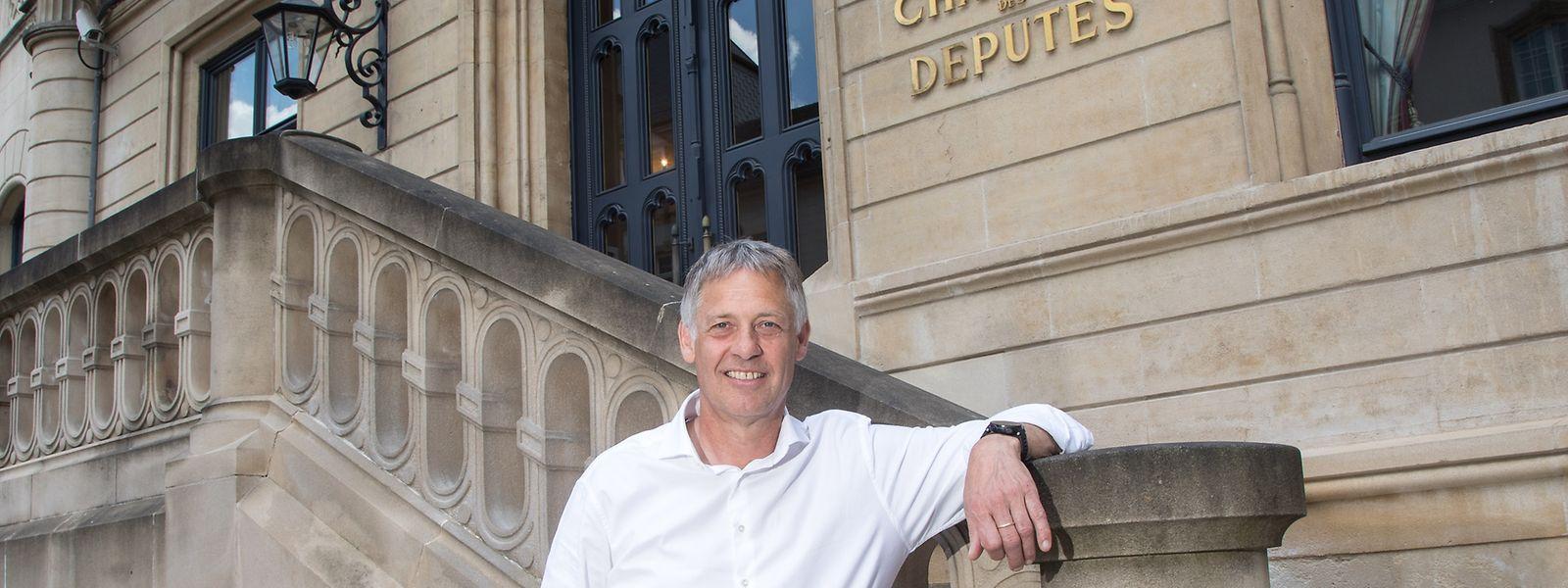 Henri Kox sitzt seit 2004 für die Grünen im Parlament.