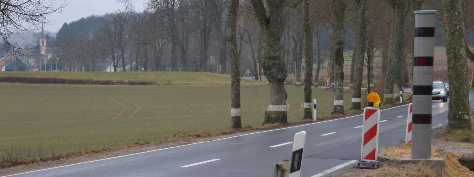 Seit Anfang März steht auf der Strecke zwischen Brouch und Saeul bereits ein fixes Radargerät. Am kommenden Dienstag geht es in Betrieb.