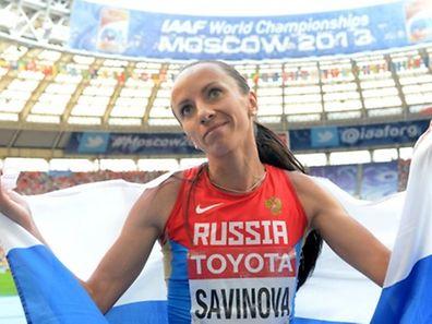 Yuliya Stepanova erhielt die Heidi-Krieger-Medaille des Doping-Opfer-Hilfevereins (DOH).