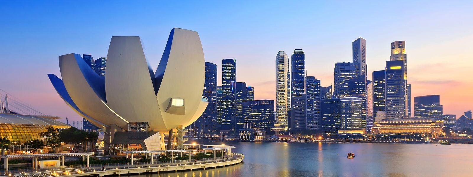 Singapour a dépassé les Etats-Unis notamment en raison des effets des tensions commerciales avec la Chine.