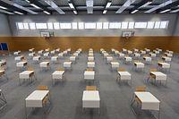 Lokales, Corona: Reportage : Vorbereitungen im Fieldgen zum erneuten Schulbeginn + Examensvorbereitungen, Foto: Lex Kleren/Luxemburger Wort