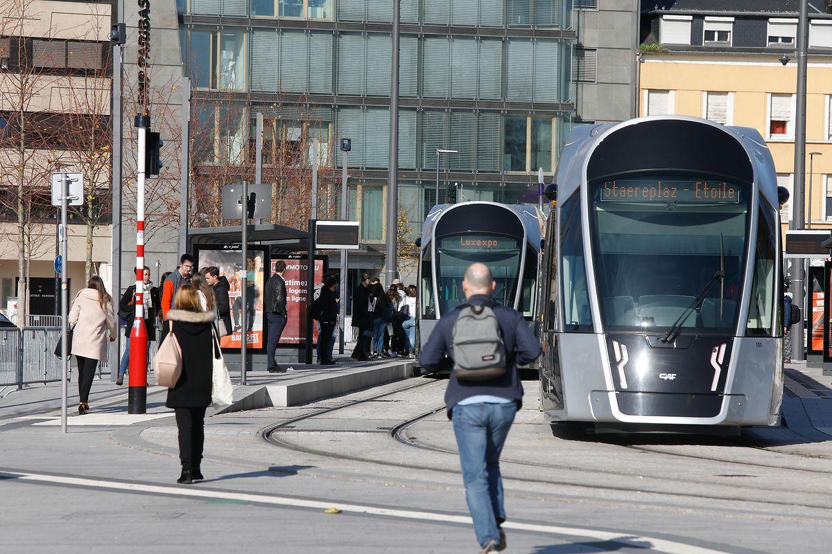 Depuis ce lundi, la fréquence de passage des trams a été augmentée à un toutes les dix minutes.